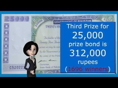 25000 Rupees Prize Bond Explained - Invest and Earn Huge Money with 25000 Rupees Prize Bond