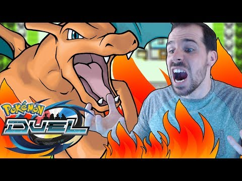 THIS MATCH IS LITERALLY FIRE! Daily Booster Box Openings + FULL FIRE DECK Battles | POKEMON DUEL