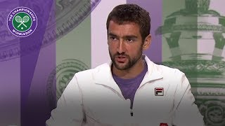 Marin Cilic Wimbledon 2017 quarter-final press conference