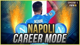 Fifa 18 career mode: napoli #1 - a new challenge! (fifa 18 gameplay)