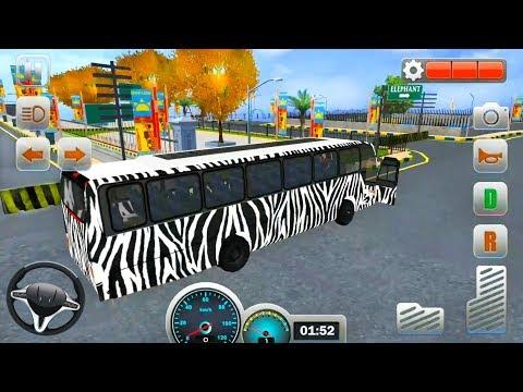 Zoo Bus Simulator: Safari Tour Bus - Android iOS Gameplay