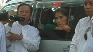 Aung San Suu Kyi faces anger over Myanmar mine project - no comment
