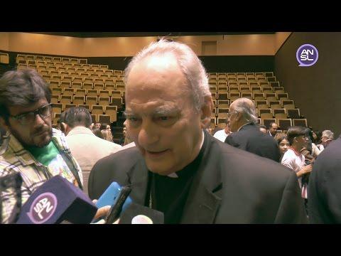 Monseñor Marcelo Sánchez Sorondo, canciller de la Pontificia Academia de las Ciencias