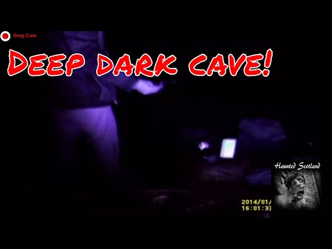 Going Deeper Into The Haunted Caves...WOW