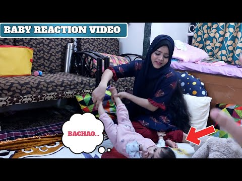 How Our Baby Reacts To Our YouTube Videos - Techno Ruhez vs Afreen's Vlog