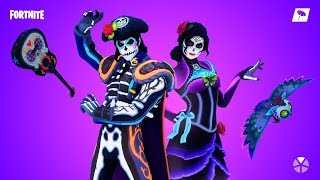 Fortnite New skins. Dante and Rosa - Glow in the Dark skins. Conor mcgregor emote