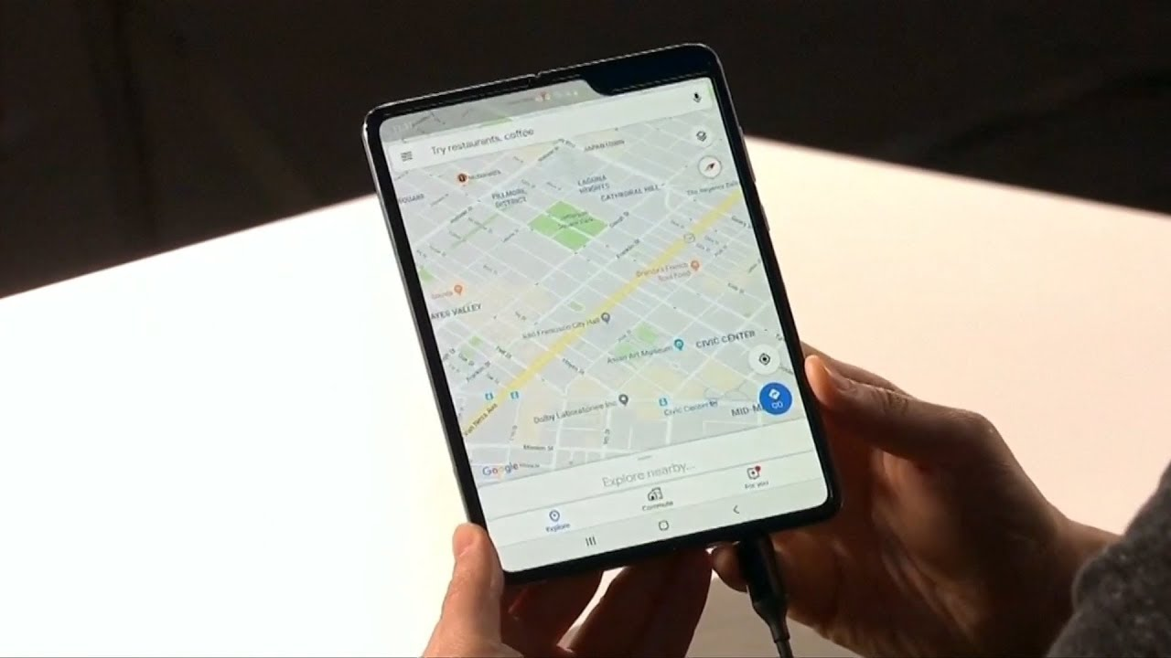 Samsung's US$2,000 foldable phone
