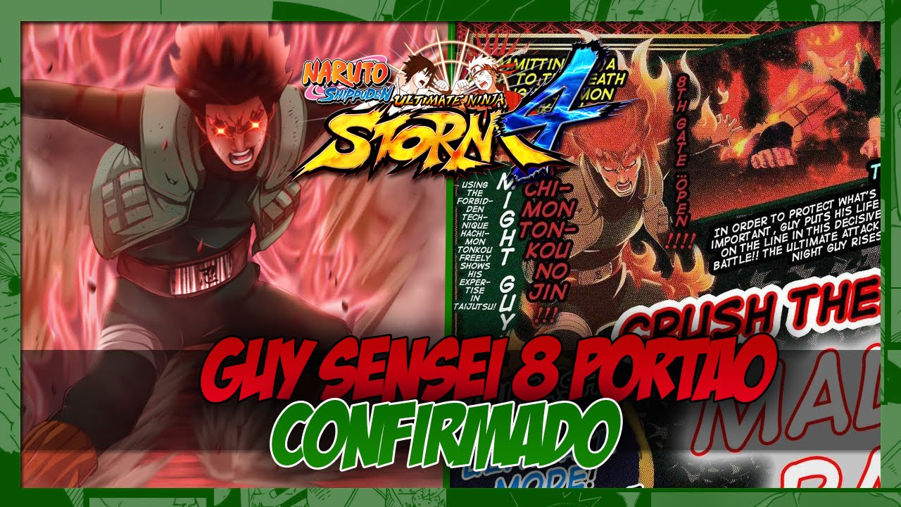 Naruto Shippuden Ultimate Ninja Storm 4 Guy Sensei 8