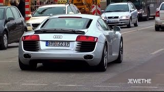 BEST OF Audi R8 V8 & V10 Exhaust SOUNDS! - 10.000.000 Views Special!!