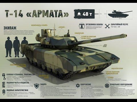 """Что из себя представляет Танк Т-14 """"Армата"""", как он сможет защитить Россию"""