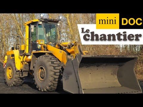 LE CHANTIER et LES ENGINS DE CHANTIER documentaire bébé