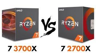 Ryzen 7 3700x vs Ryzen 7 2700x vs i7 8700k Test in 9 Games