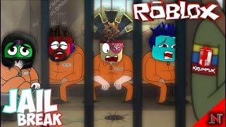 ROBLOX indonesia #13 JailBreak ( Napi Gadungan ! 😆😁😘😋 HAHAHA