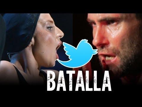 Lady Gaga VS Adam Levine y Tweet a Miley Cyrus!
