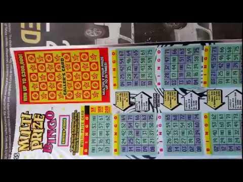 Michigan Lottery Series Part 3- $5 Multi-prize Bingo
