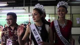 Miss Universe - Olivia Culpo in Indonesia