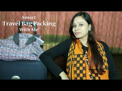 Travel Bag Packing Ideas/ How to pack for a winter trip
