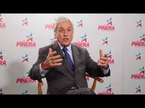 Ex Presidente Sebastián Piñera - entrevista NTN24 (31.07.2017)