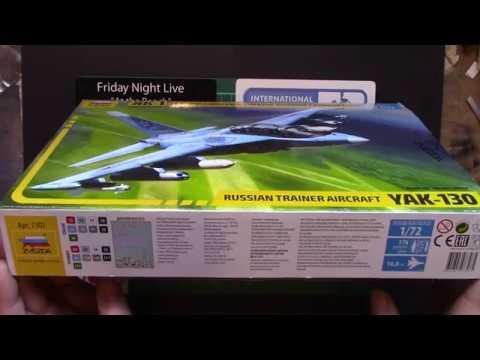 Zvezda 1:72 Yak 130 inbox review