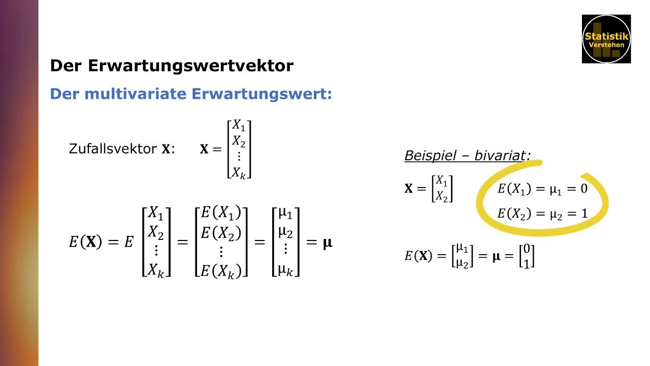 Kovarianz Und Korrelation 8 Beispiel Zur