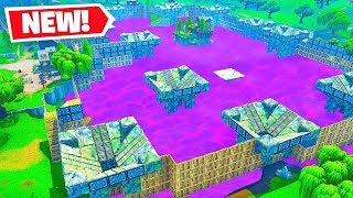 *NEW* GIANT BOUNCY CASTLE Gamemode in Fortnite Battle Royale!