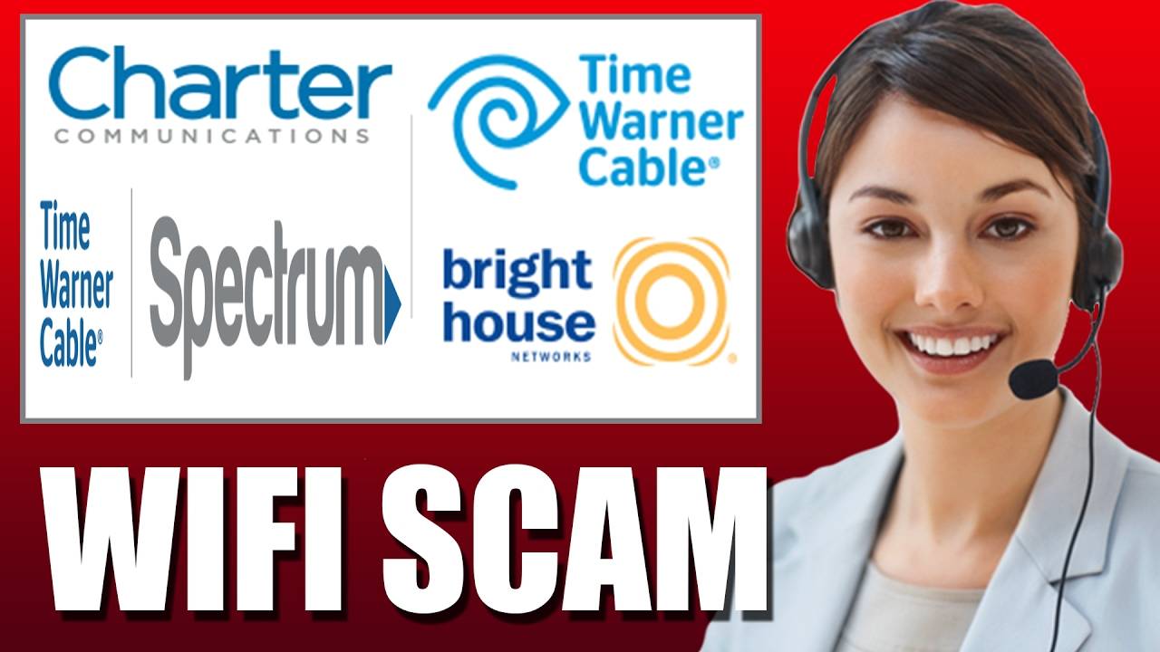 Time Warner Cable Spectrum Internet Wifi Scam