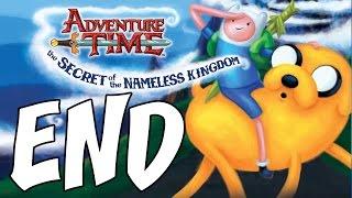 Adventure Time: The Secret of the Nameless Kingdom - ALL ENDINGS - Final Boss Nightmare Princess!
