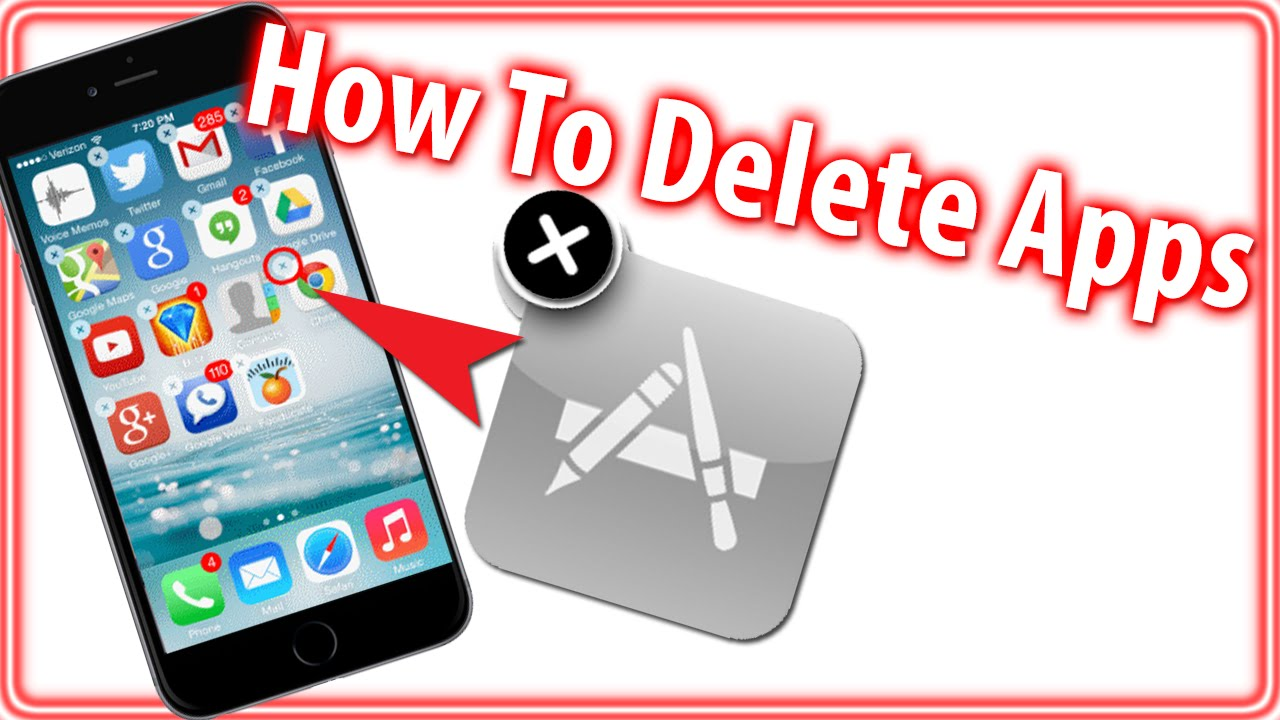 How To Delete Apps Iphone 6, 6 Plus, Ipad & Ipod Touch (beginner Tips)