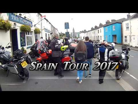 Adventure Motorcycle Tour Spain 2017 - Part 1 Plymouth to Oviedo BMW R1200GS