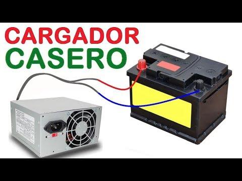 Como hacer un cargador de baterías con una fuente de PC antigua!