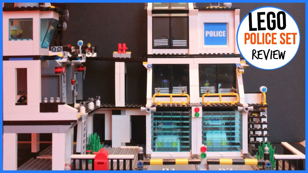 LEGO POLICE STATION 2010 REVIEW - YouTube