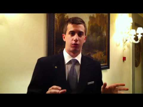 Concierge recommands at Four Seasons Florence