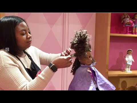 American Girl Doll Goes To AG Hair Salon