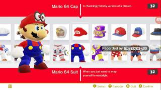 9 outfits I would like to see in Super Mario Odyssey
