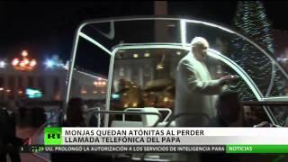 """El papa Francisco: """"¿Qué andarán haciendo las monjas que no pueden atender el teléfono?"""""""