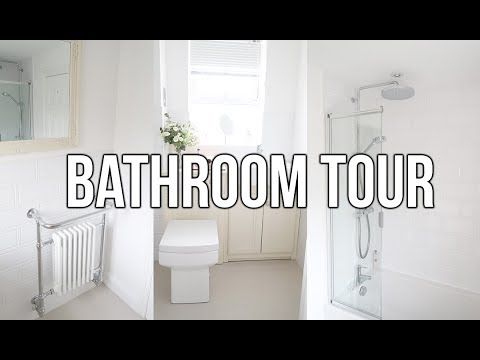 RENOVATION UPDATE COMPLETED BATHROOM TOUR