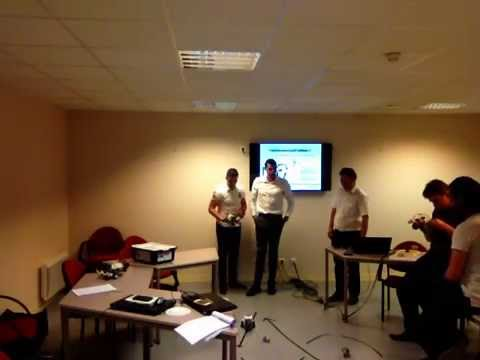 Workshop with LEGO MINDSTORMS EV3 in French