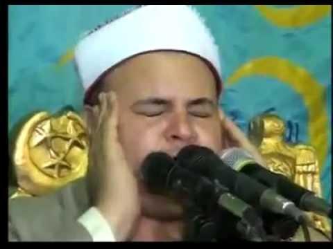 الشيخ صديق محمود المنشاوى رائعة النازعات والبلد المراغة