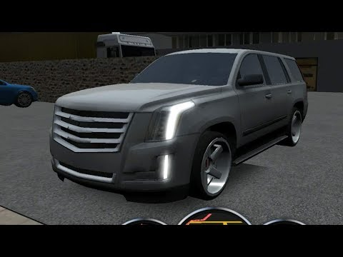Escalade Driving School 2016, Escalade with Steering Wheel, Car Driving Games Mobile GamePlay