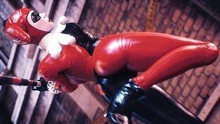 Batman Arkham Knight The Clown Princess Harley Quinn Combat & Free Roam