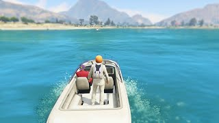 INTENSE BOAT CAPTURE RACE (GTA 5 Funny Moments)