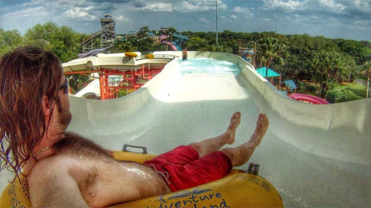 Adventure Island Tampa: Key West Rapids Go Pro At Adventure Island Tampa.