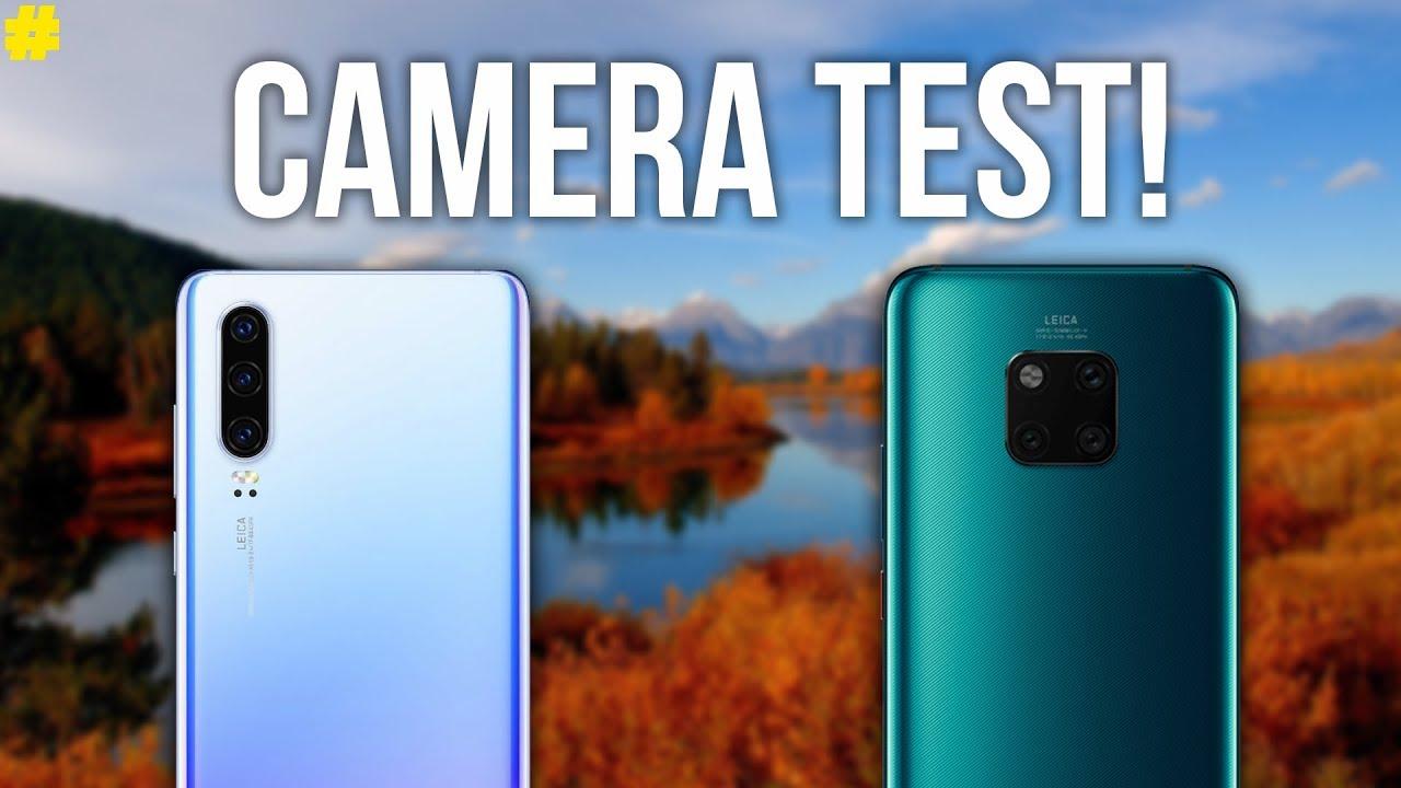 Huawei P30 Vs Huawei Mate 20 Pro Ultimate Camera Comparison Youtube