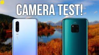 Huawei P30 vs Huawei Mate 20 Pro: Ultimate Camera Comparison!