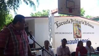 DIVA GASTELUM entrega Pituras a 5 escuelas de Angostura, Sinaloa 3