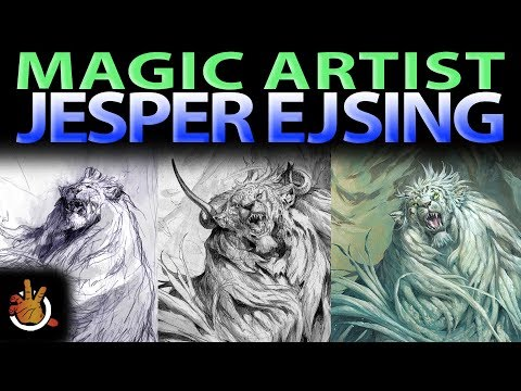 Inside the Mind of Magic Artist Jesper Ejsing | The Command Zone #184 | Magic the Gathering EDH