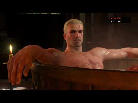 The Witcher 3! Wild Hunt Blind play through