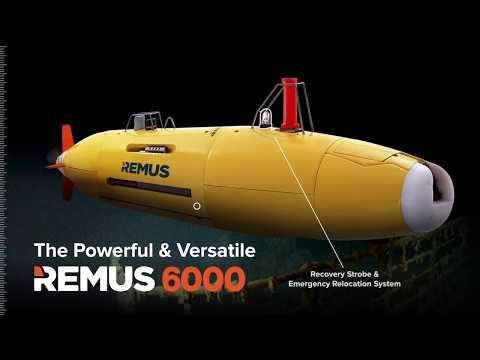 R6000 Autonomous Underwater Vehicle