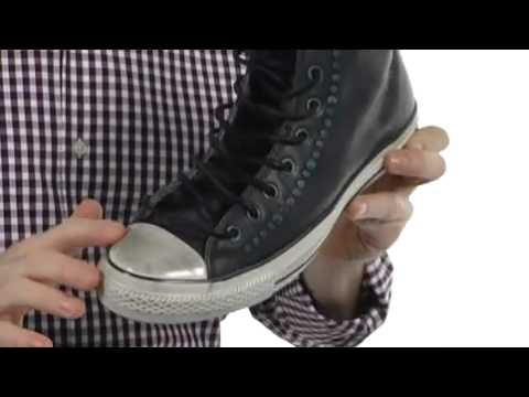 brand new 2cd74 8ef78 ... promo code for converse by john varvatos chuck taylor all star studded  leather hi sku 7999488