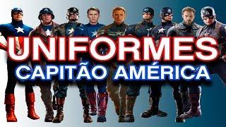 Gambar cover Uniformes Capitão América - #AMCorp - André Martins